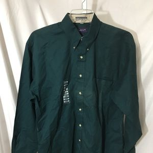 #329–. Gant chelsea twill mens shirt size L, new